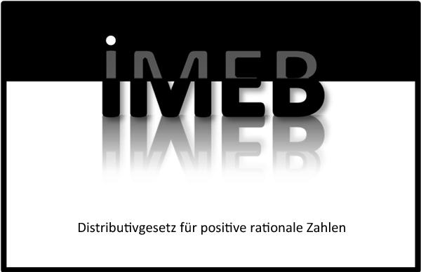 Rationale Zahlen addieren und subtrahieren - Distributivgesetz für positive rationale Zahlen